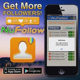 دانلود NuFollow برنامه افزایش فالو اینستاگرام اندروید