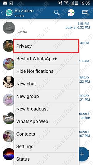 آموزش نصب و استفاده از واتس آپ پلاس اندروید WhatsApp+ plus
