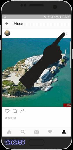 آموزش تصویر غیر فعال کردن ارسال کامنت در پست اینستاگرام