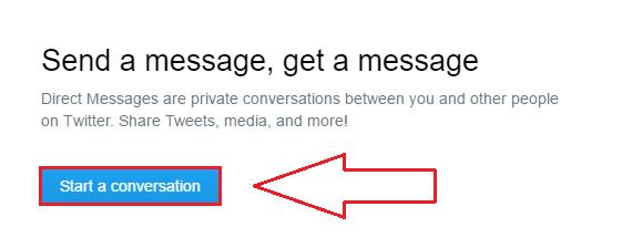 آموزش تصویری ارسال پیام خصوصی در توییتر Twitter