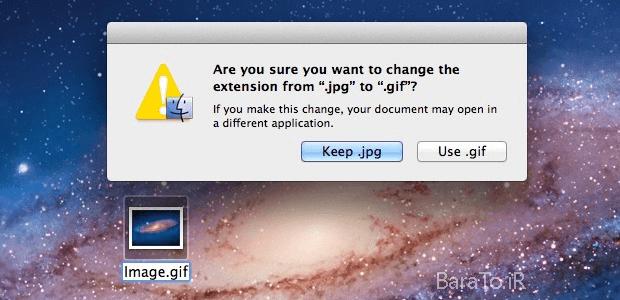 آموزش تصویری تغییر پسوند فایل در ویندوز