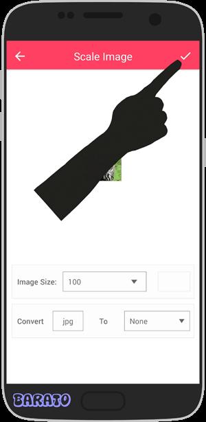 آموزش تصویری تغییر پسوند عکس در اندروید
