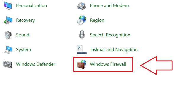آموزش روشن یا خاموش کردن فایروال در ویندوز - دیوار آتش