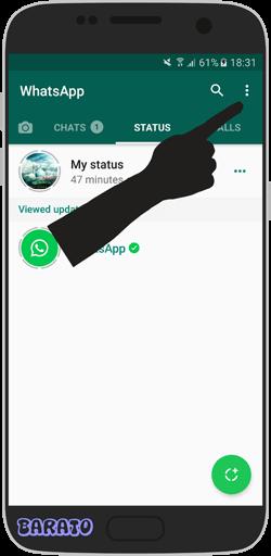 آموزش قرار دادن عکس در Status استوری واتس آپ + ویدیو