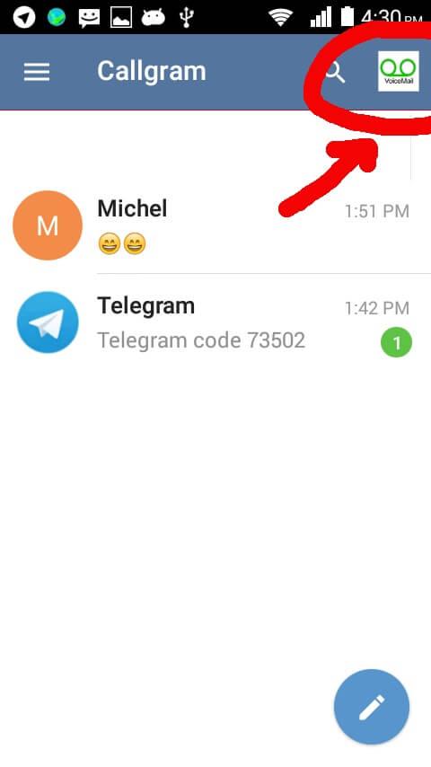 دانلود Callgram کالگرام اضافه کردن تماس صوتی تلگرام