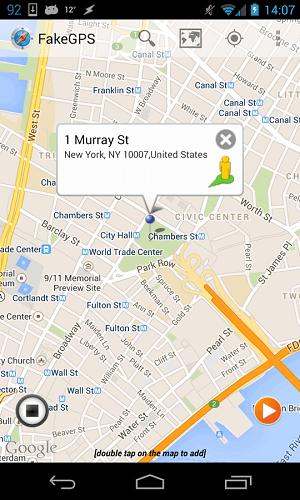دانلود Fake GPS Location Spoofer موقعیت مکانی جعلی در اندروید