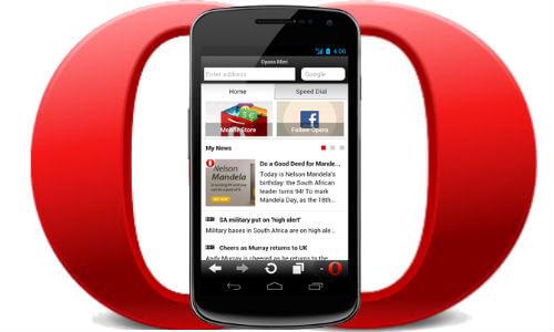 دانلود Opera Mini نسخه جدید اپرا مینی برای اندروید