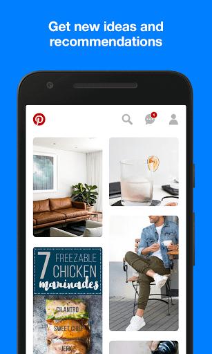 دانلود Pinterest شبکه اجتماعی پینترست برای اندروید