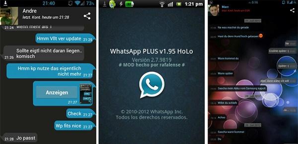 دانلود نسخه جدید واتس اپ پلاس