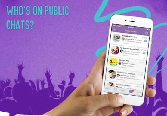 آموزش ساخت Public Chat چت عمومی در وایبر