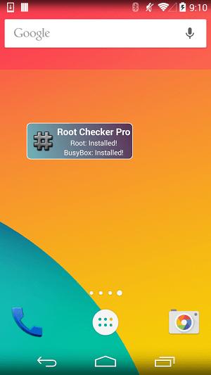 دانلود Root Checker برنامه روت چکر برای اندروید
