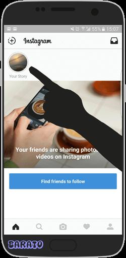 آموزش تصویری قرار دادن Stories استوری در اینستاگرام اندروید