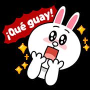 LINE characters : Love U-Spainish