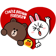 Brown and Conys Lovey Dovey Date