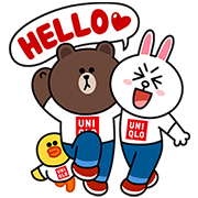 LINE Characters at UNIQLO