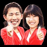 Naoko Takahashi & Saori Yoshida