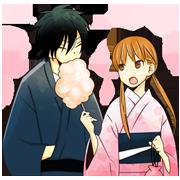 LINE Manga:Tonari no Kaibutsu-kun