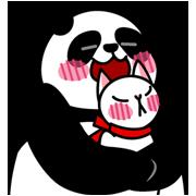 Panda and Xiaoyuʹs happy life