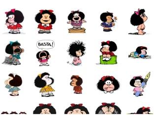 استیکر تلگرام MafaldaPack